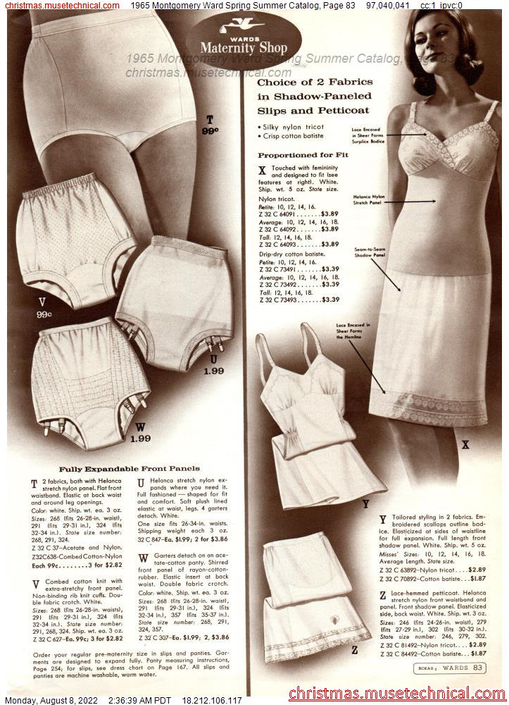 1965 Montgomery Ward Spring Summer Catalog, Page 83
