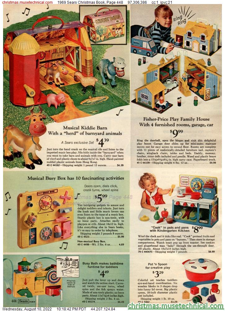 1969 Sears Christmas Book, Page 448