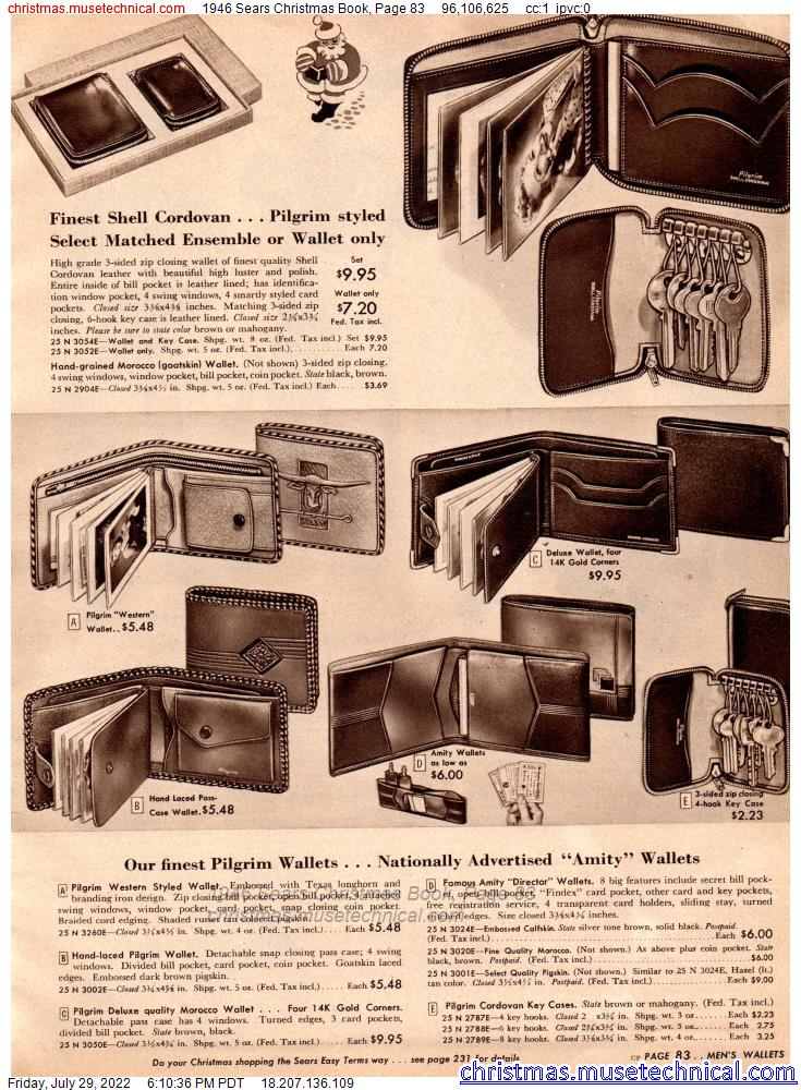 1946 Sears Christmas Book, Page 83
