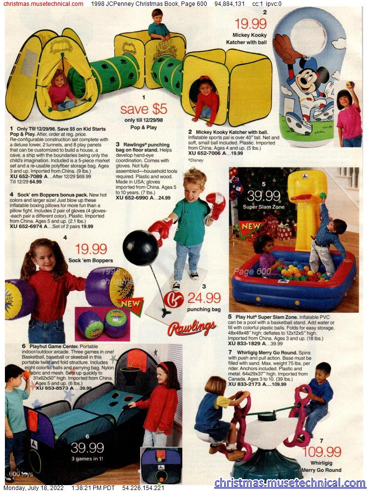 1998 JCPenney Christmas Book, Page 600