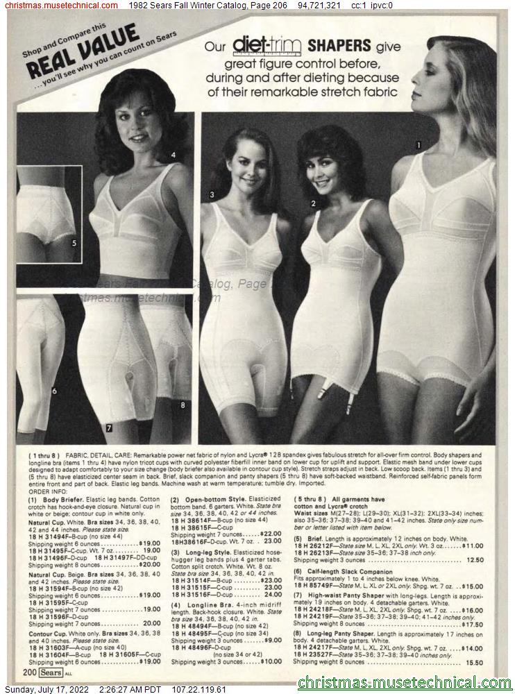 1982 Sears Fall Winter Catalog, Page 206