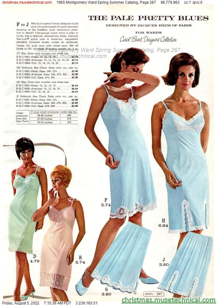 1965 Montgomery Ward Spring Summer Catalog, Page 267
