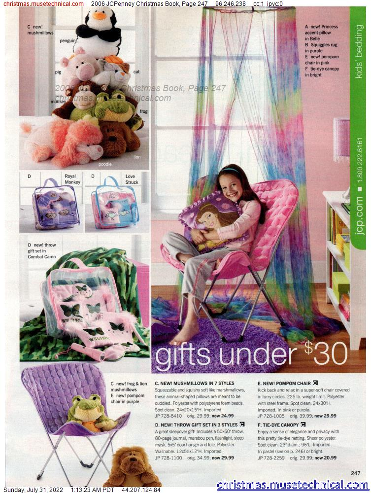 2006 JCPenney Christmas Book, Page 247