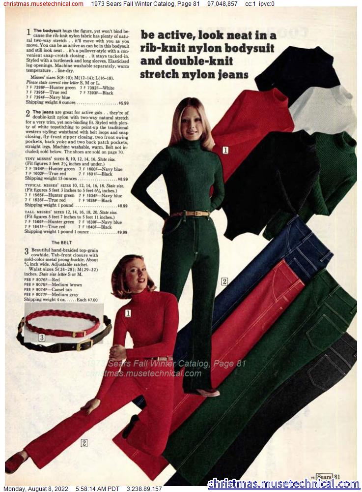 1973 Sears Fall Winter Catalog, Page 81