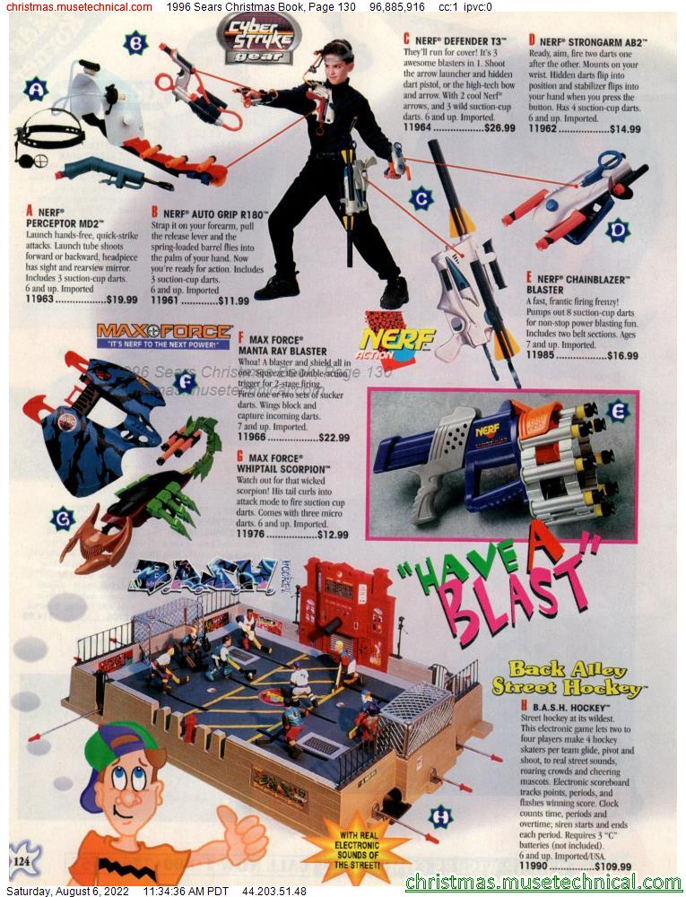 1996 Sears Christmas Book, Page 130