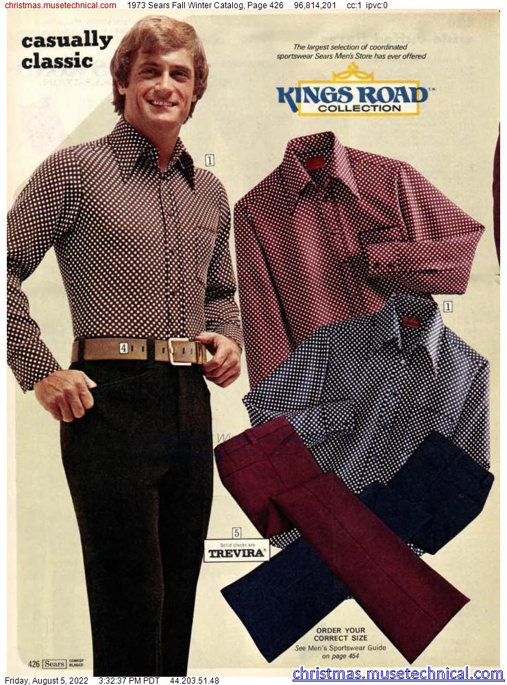 1973 Sears Fall Winter Catalog, Page 426