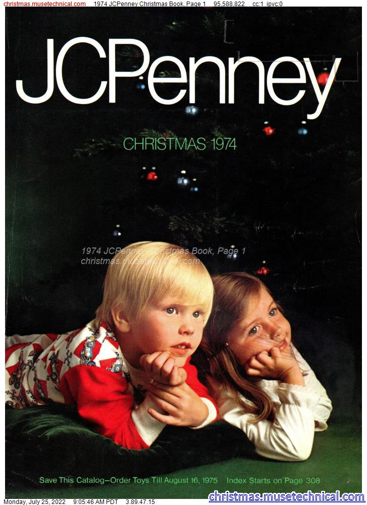 1974 JCPenney Christmas Book, Page 1