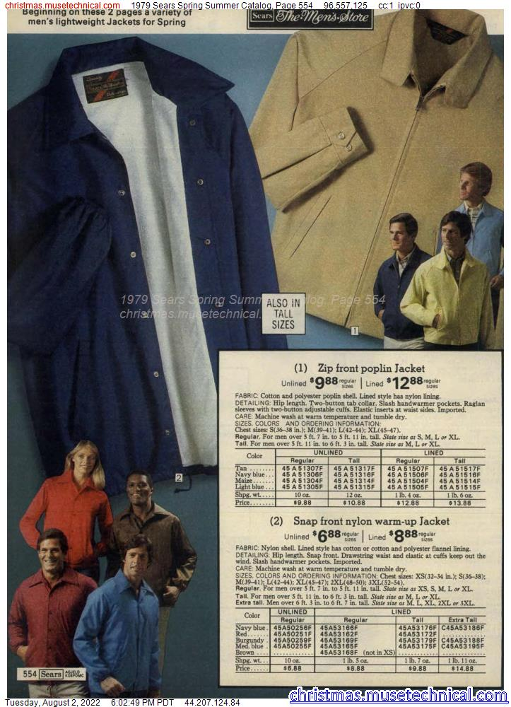 1979 Sears Spring Summer Catalog, Page 554