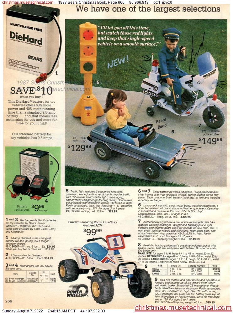1987 Sears Christmas Book, Page 660