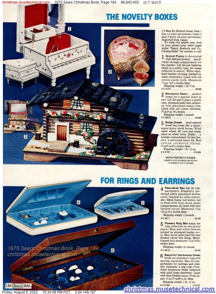 1975 Sears Christmas Book, Page 184