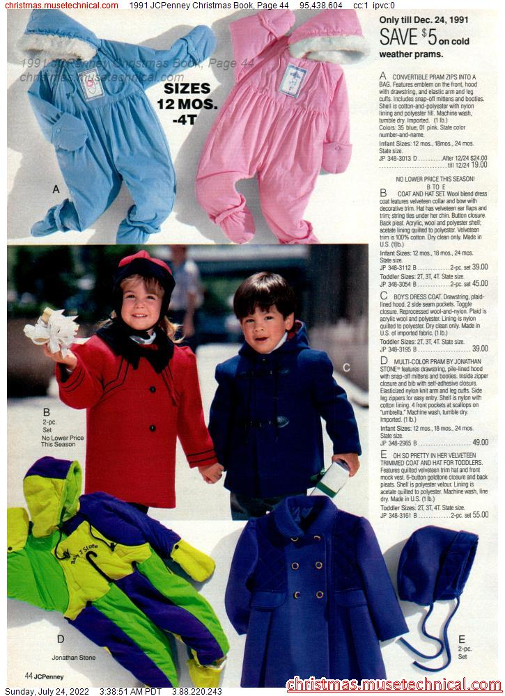 1991 JCPenney Christmas Book, Page 44