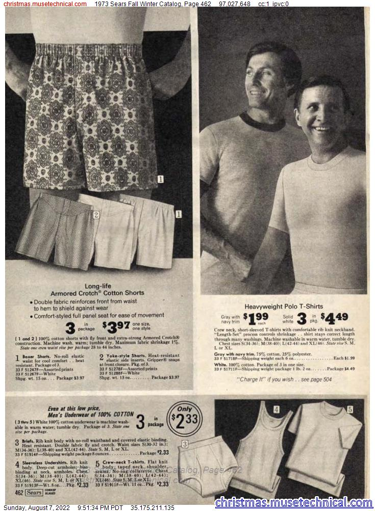 1973 Sears Fall Winter Catalog, Page 462