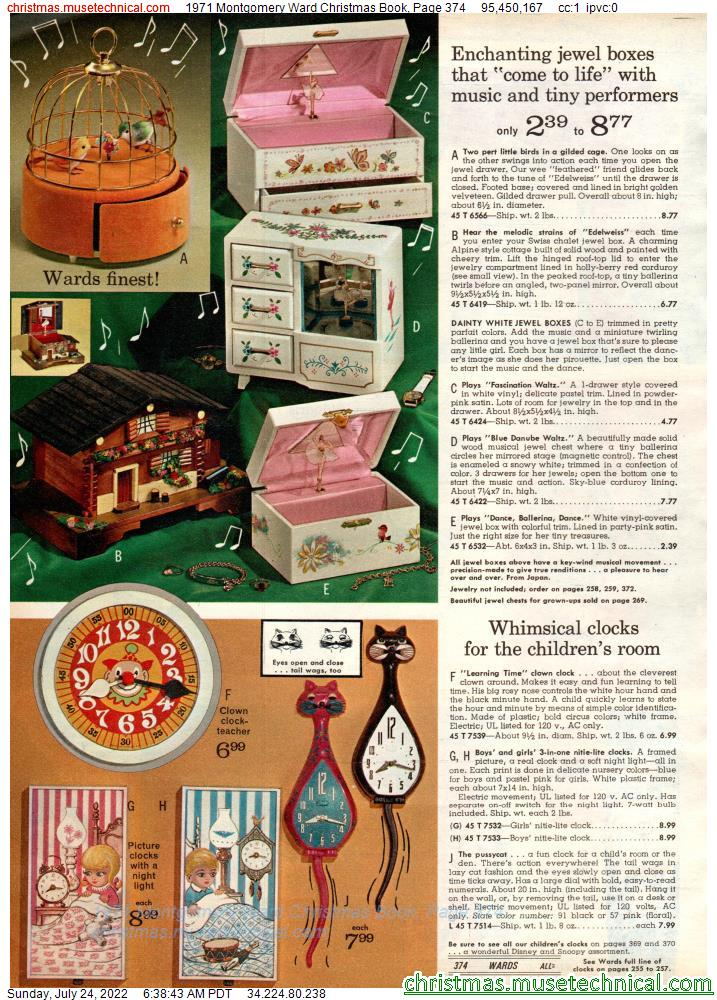 1971 Montgomery Ward Christmas Book, Page 374