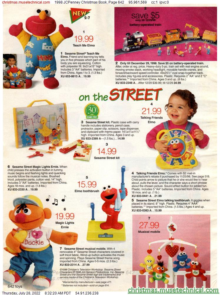 1998 JCPenney Christmas Book, Page 642