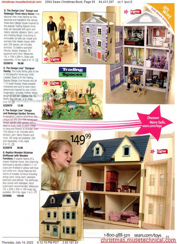 2004 Sears Christmas Book, Page 55