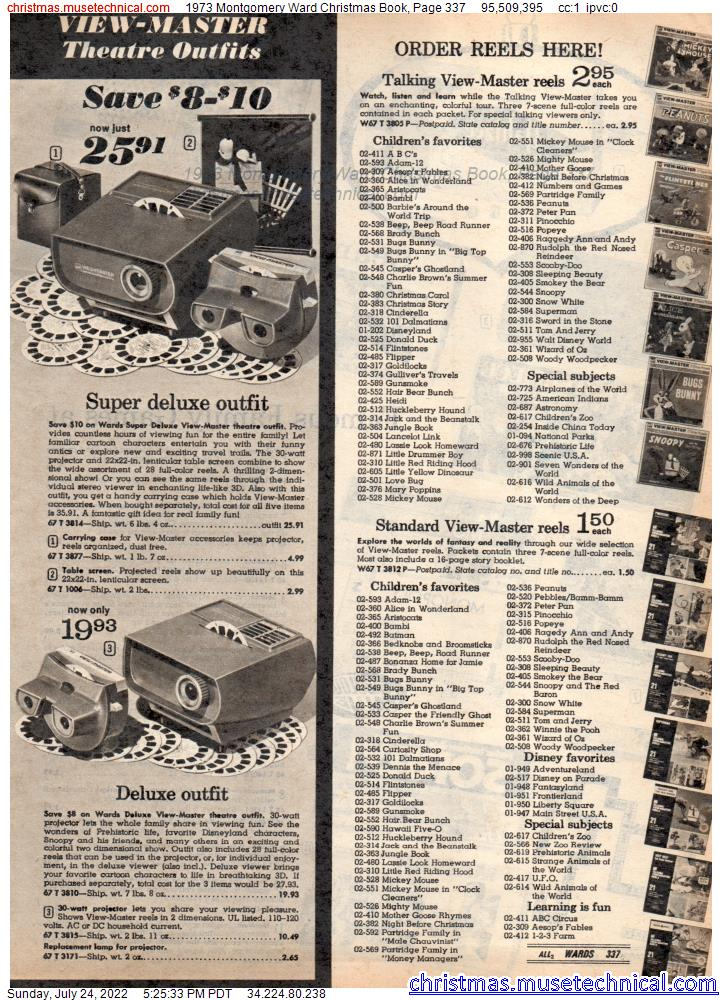 1973 Montgomery Ward Christmas Book, Page 337