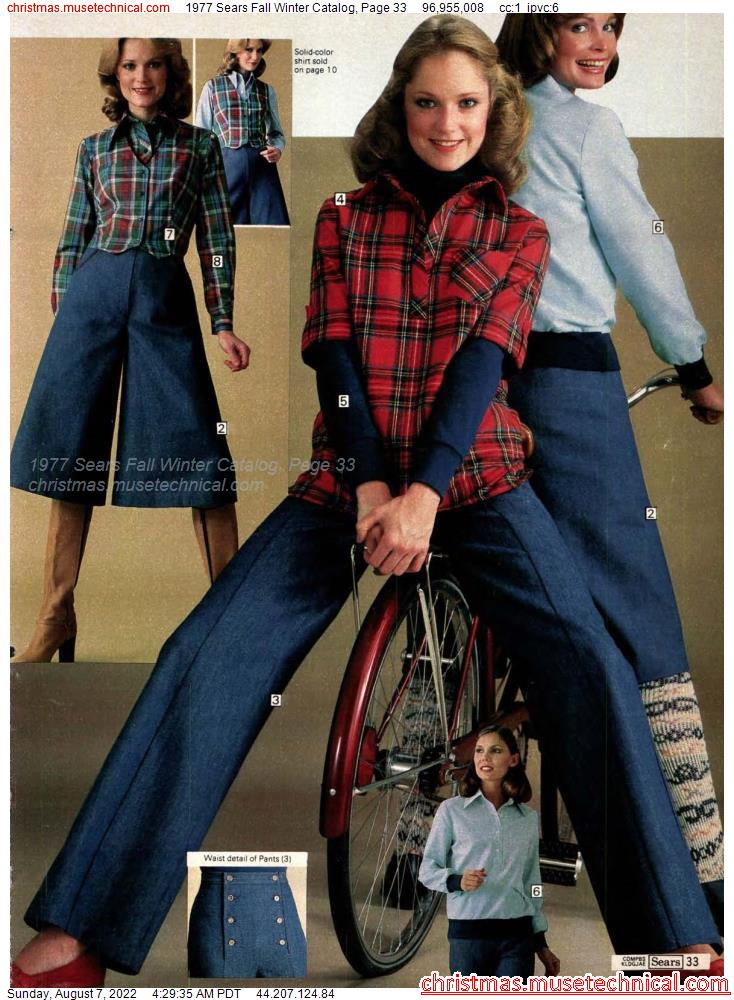 1977 Sears Fall Winter Catalog, Page 33