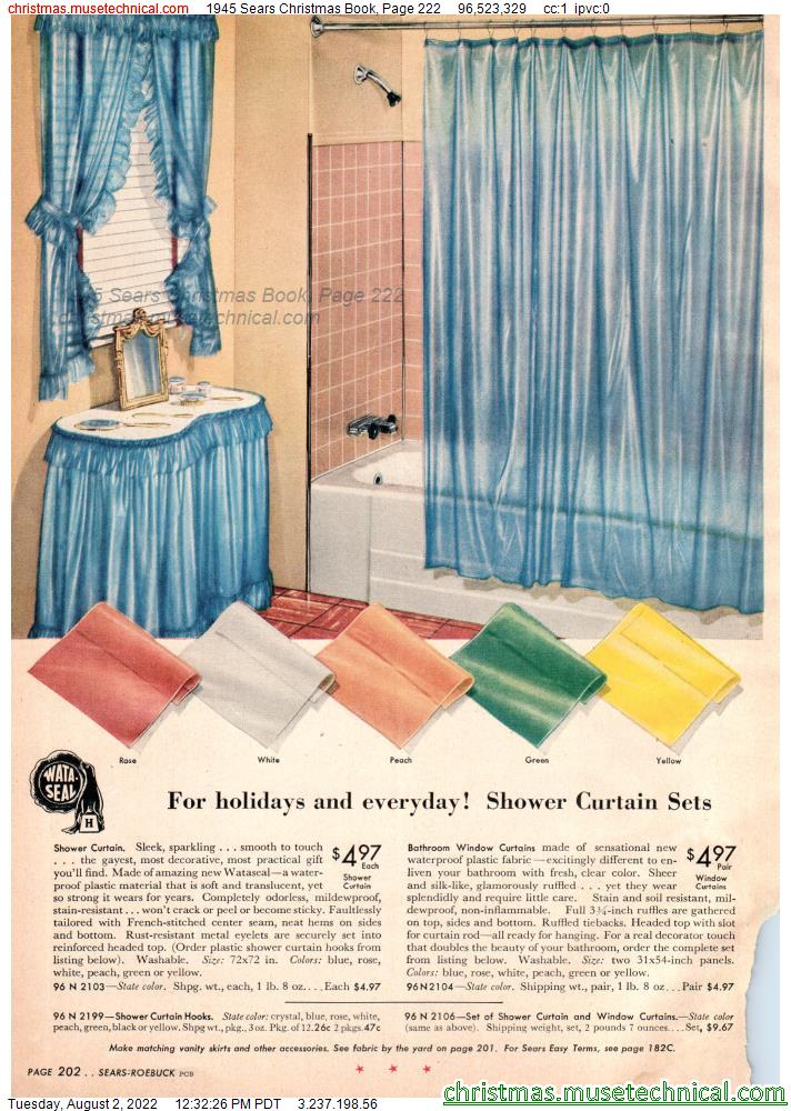 1945 Sears Christmas Book, Page 222