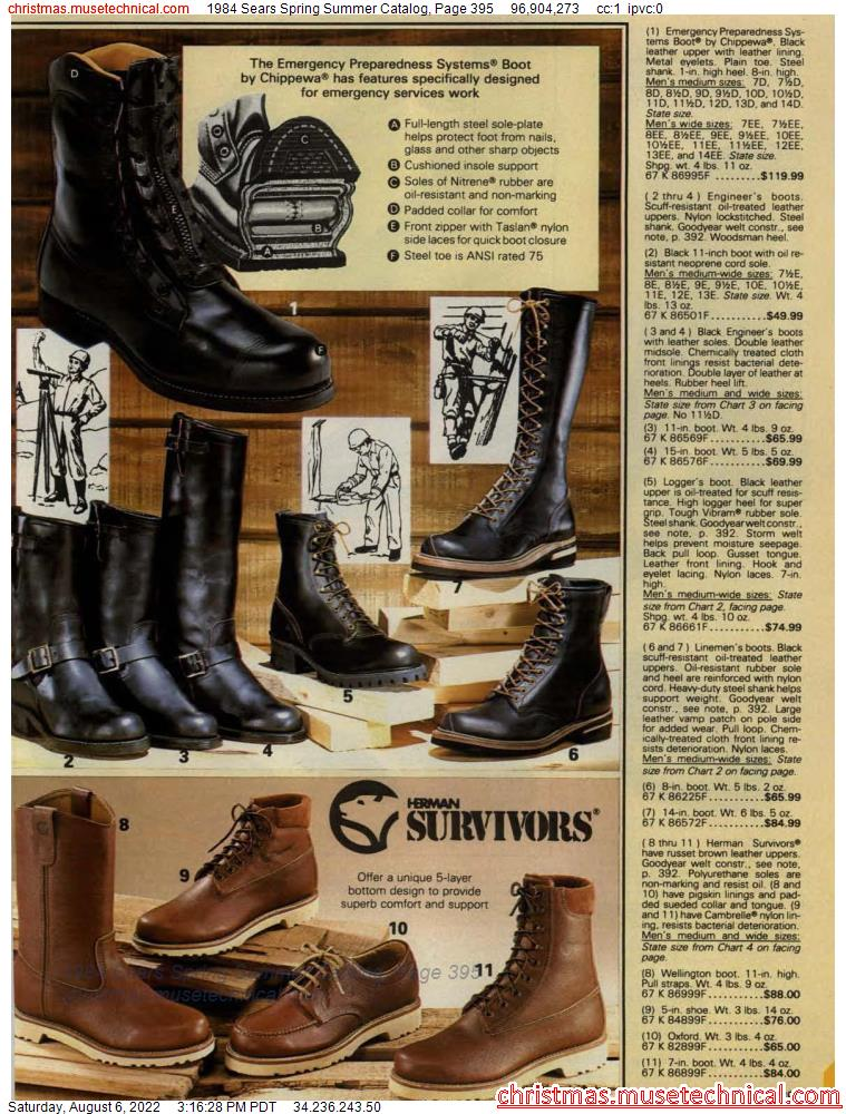 1984 Sears Spring Summer Catalog, Page 395