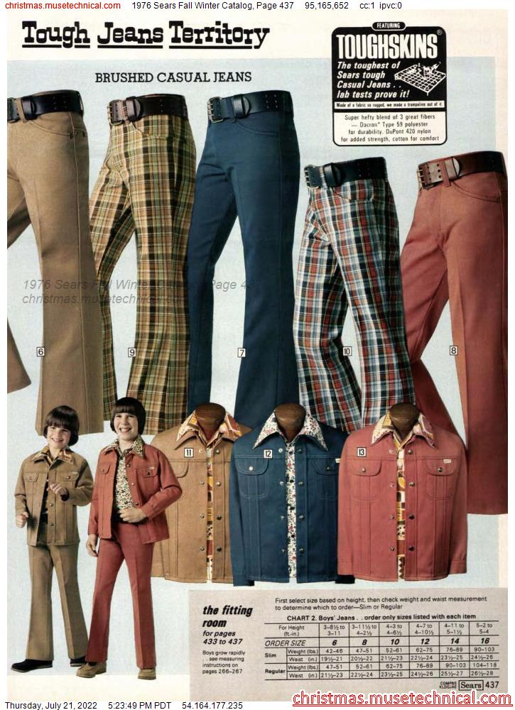 1976 Sears Fall Winter Catalog, Page 437