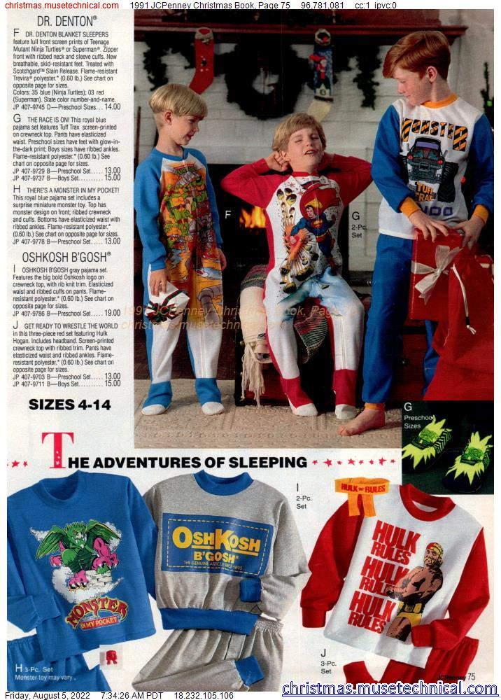 1991 JCPenney Christmas Book, Page 75