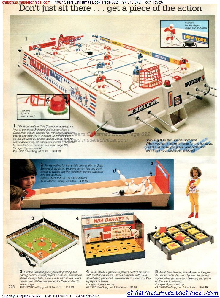 1987 Sears Christmas Book, Page 622