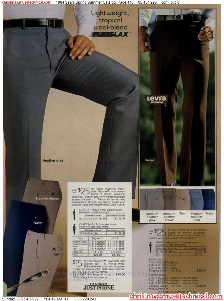 1984 Sears Spring Summer Catalog, Page 446