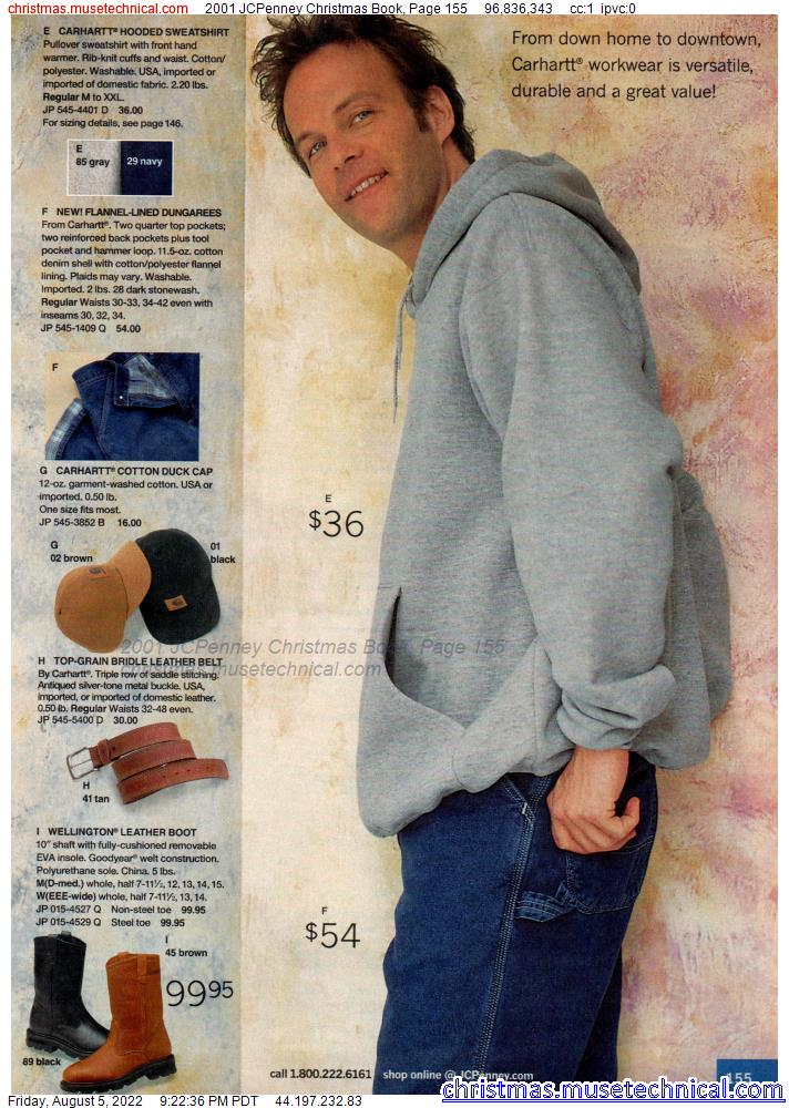 2001 JCPenney Christmas Book, Page 155