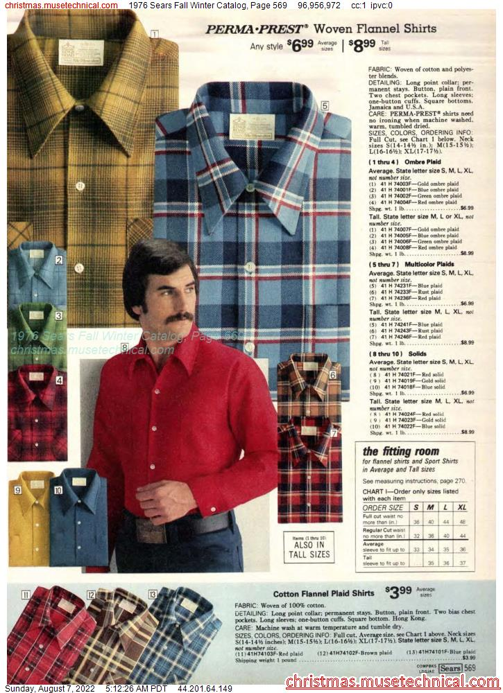 1976 Sears Fall Winter Catalog, Page 569