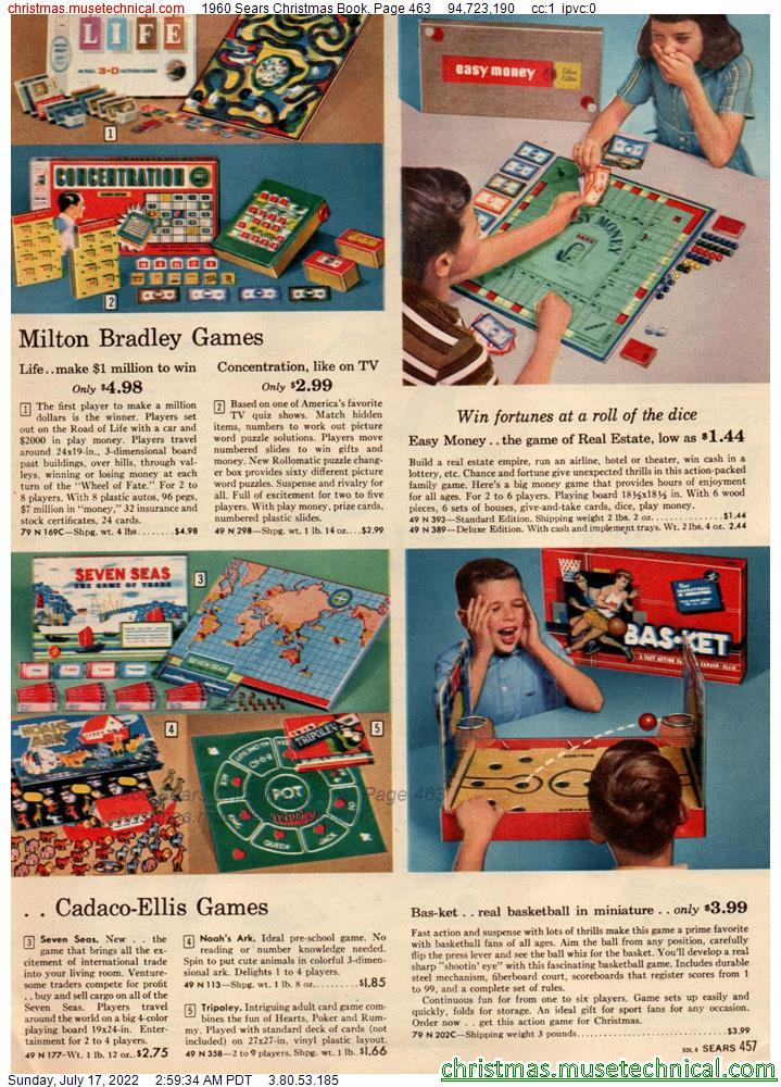 1960 Sears Christmas Book, Page 463