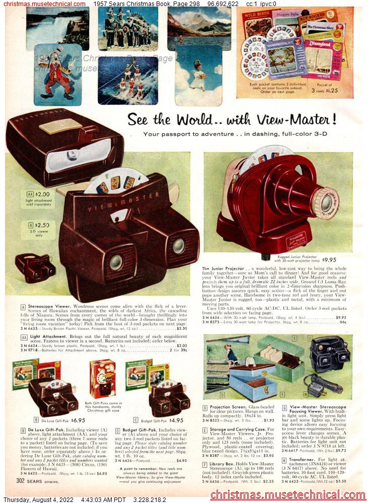 1957 Sears Christmas Book, Page 298