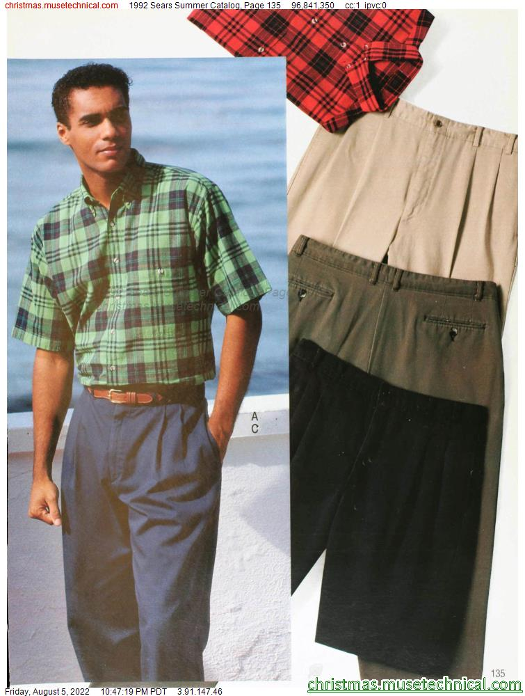1992 Sears Summer Catalog, Page 135