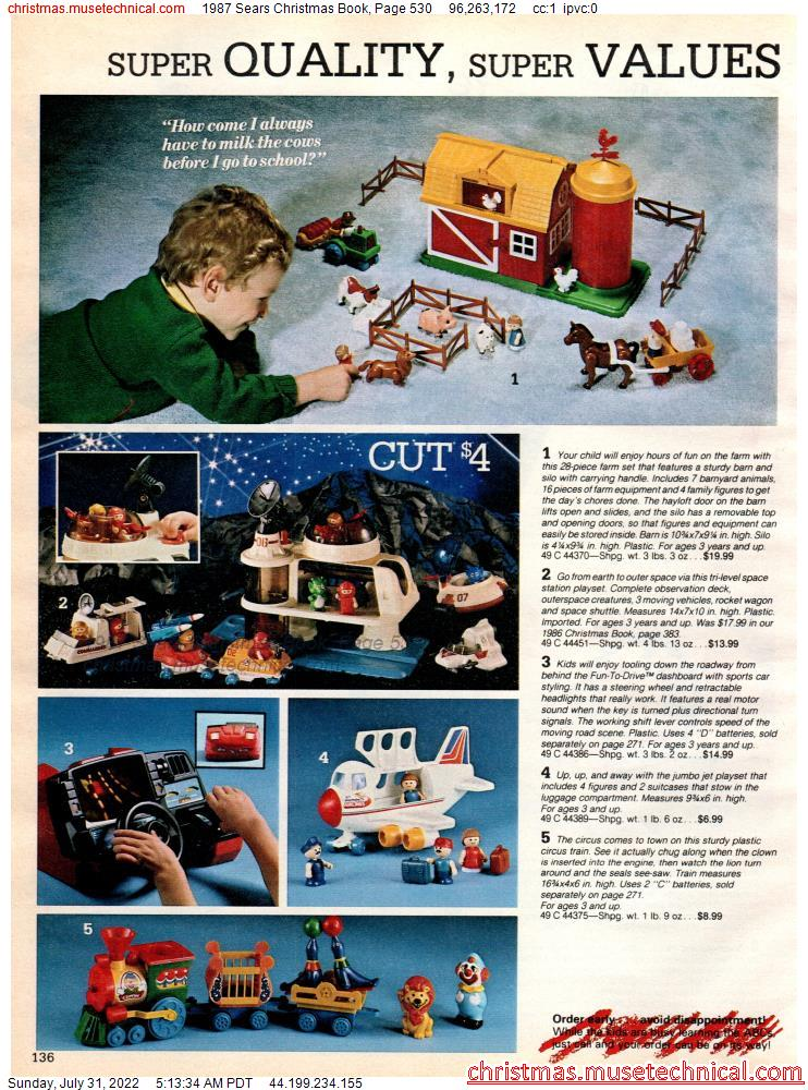 1987 Sears Christmas Book, Page 530