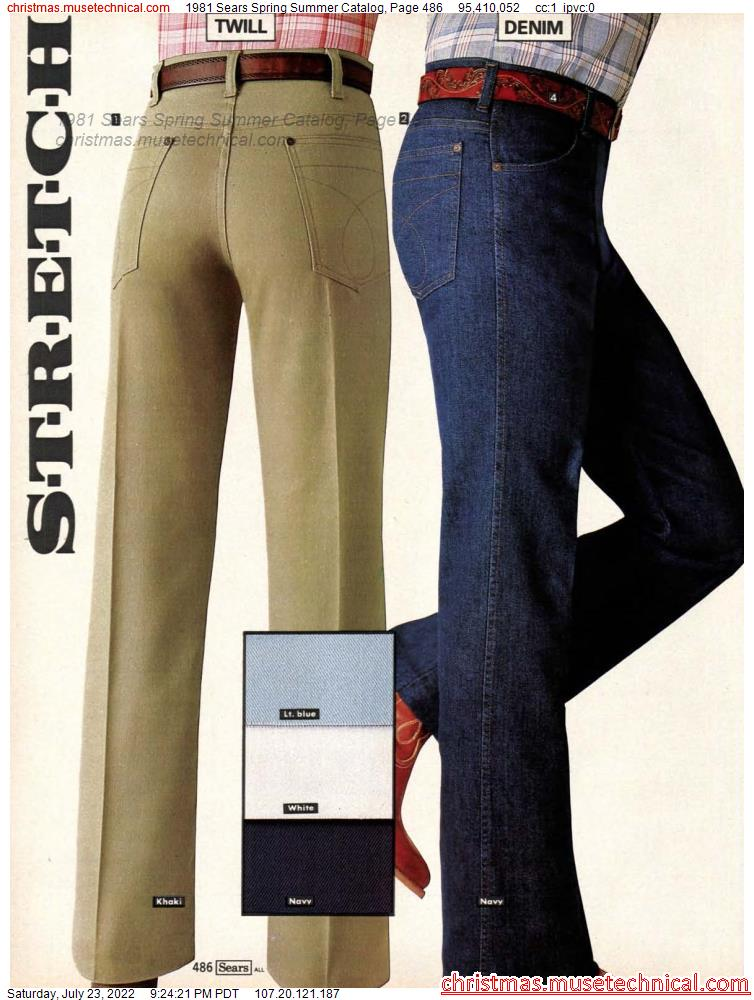 1981 Sears Spring Summer Catalog, Page 486