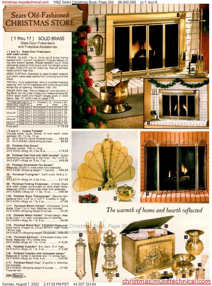 1982 Sears Christmas Book, Page 394