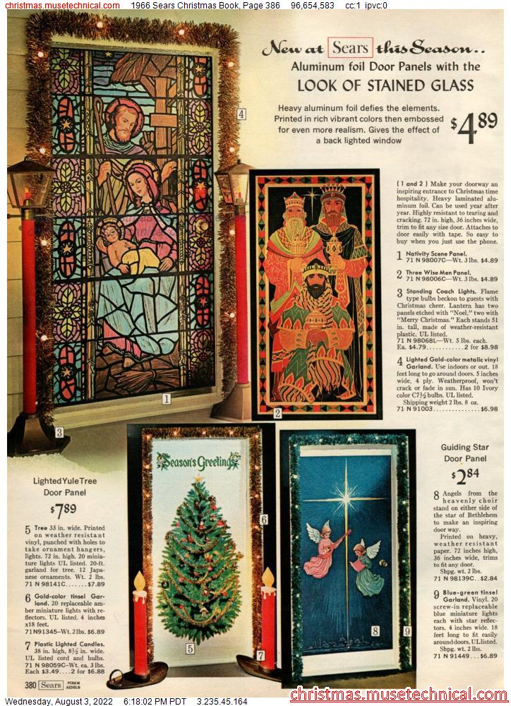1966 Sears Christmas Book, Page 386