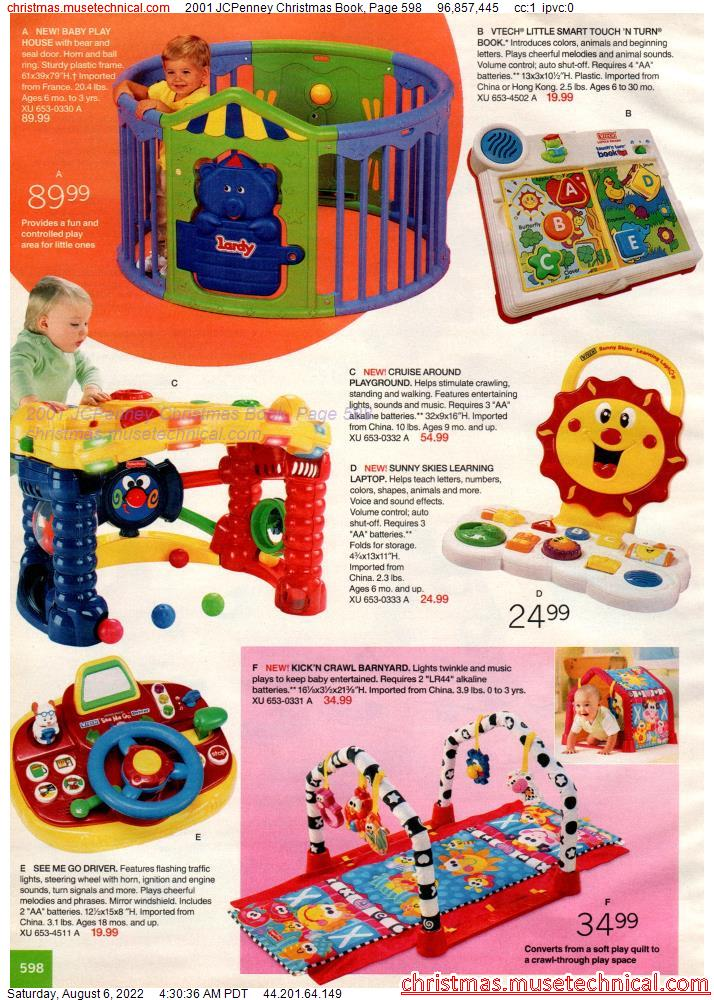 2001 JCPenney Christmas Book, Page 598