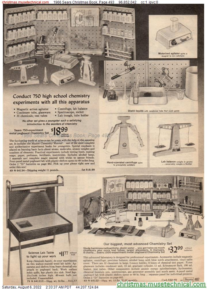 1966 Sears Christmas Book, Page 493