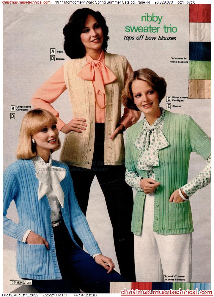 1977 Montgomery Ward Spring Summer Catalog, Page 44