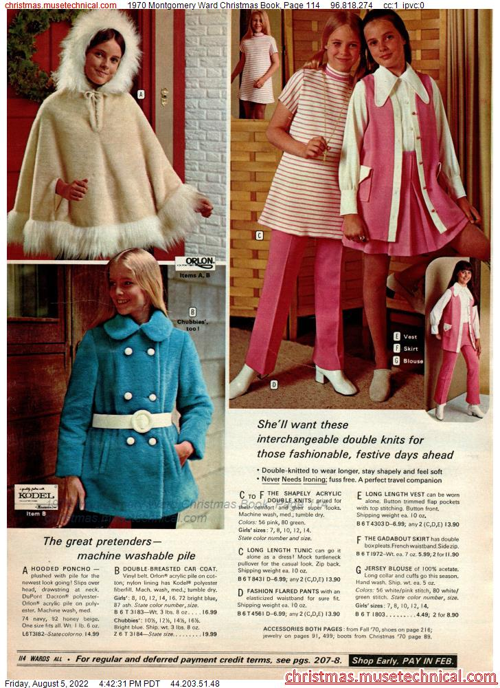 1970 Montgomery Ward Christmas Book, Page 114