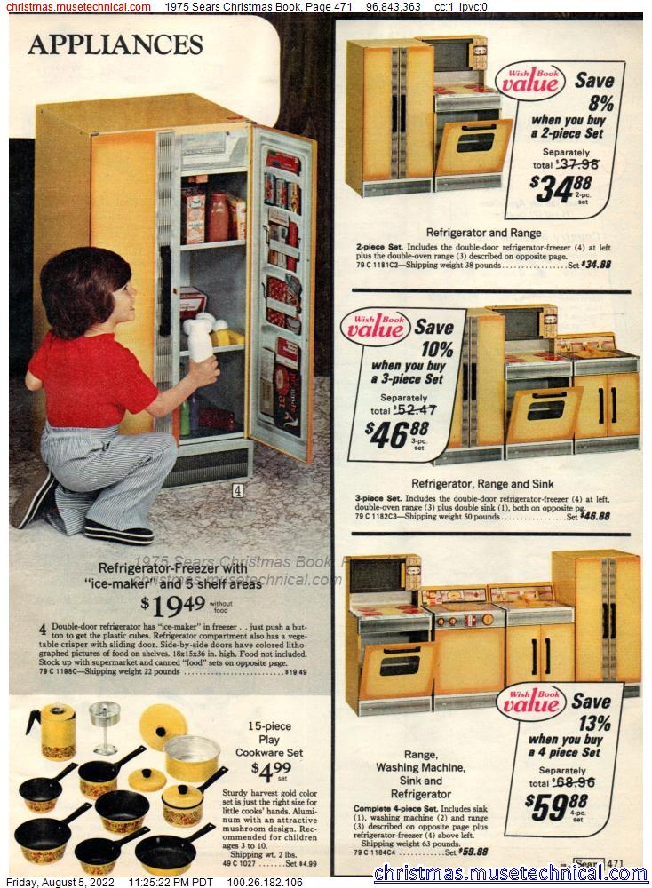 1975 Sears Christmas Book, Page 471