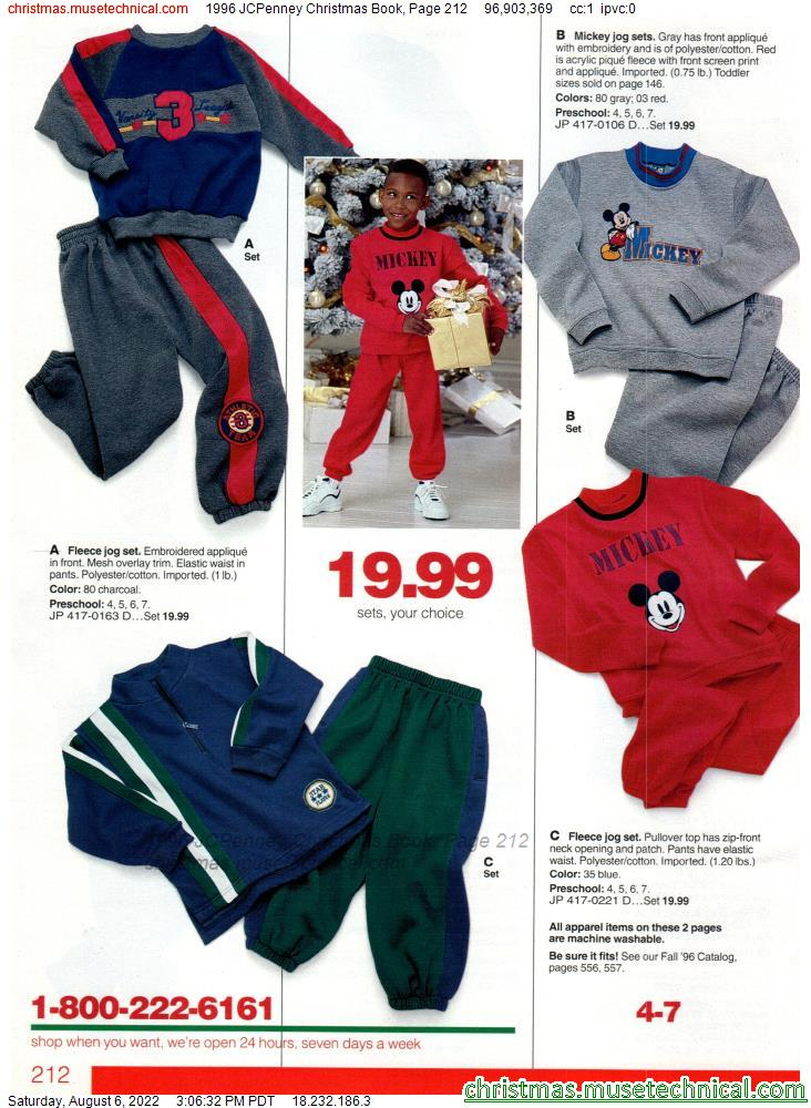 1996 JCPenney Christmas Book, Page 212