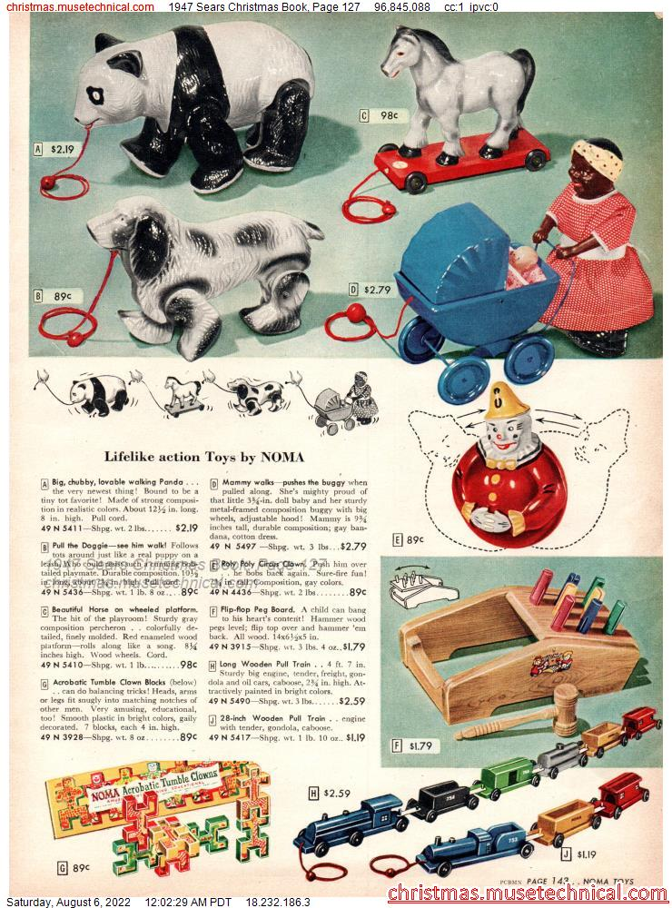 1947 Sears Christmas Book, Page 127