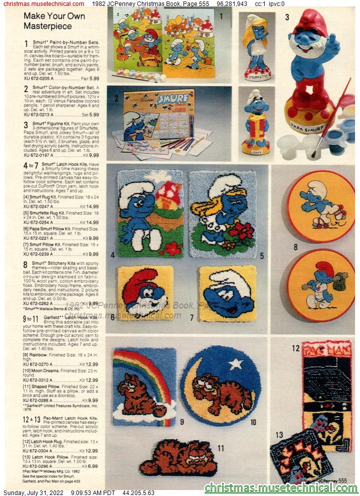 1982 JCPenney Christmas Book, Page 555