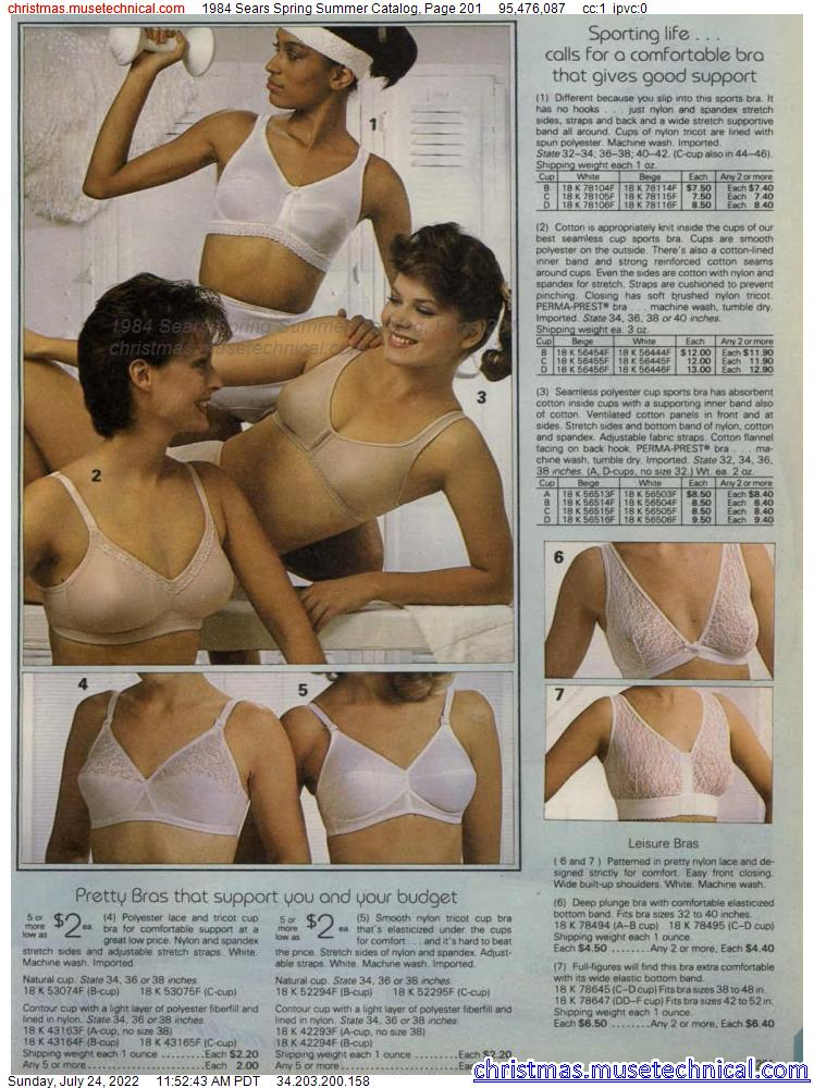 1984 Sears Spring Summer Catalog, Page 201