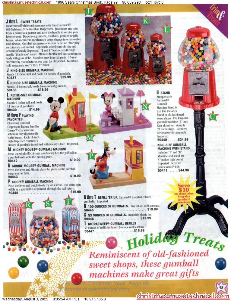 1996 Sears Christmas Book, Page 99