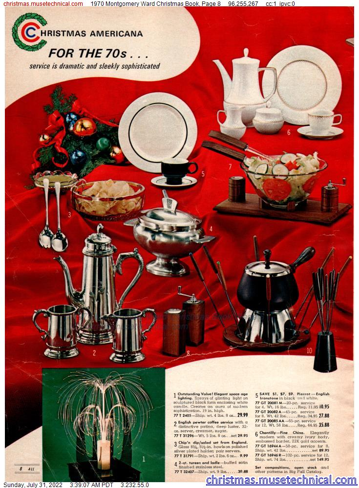 1970 Montgomery Ward Christmas Book, Page 8