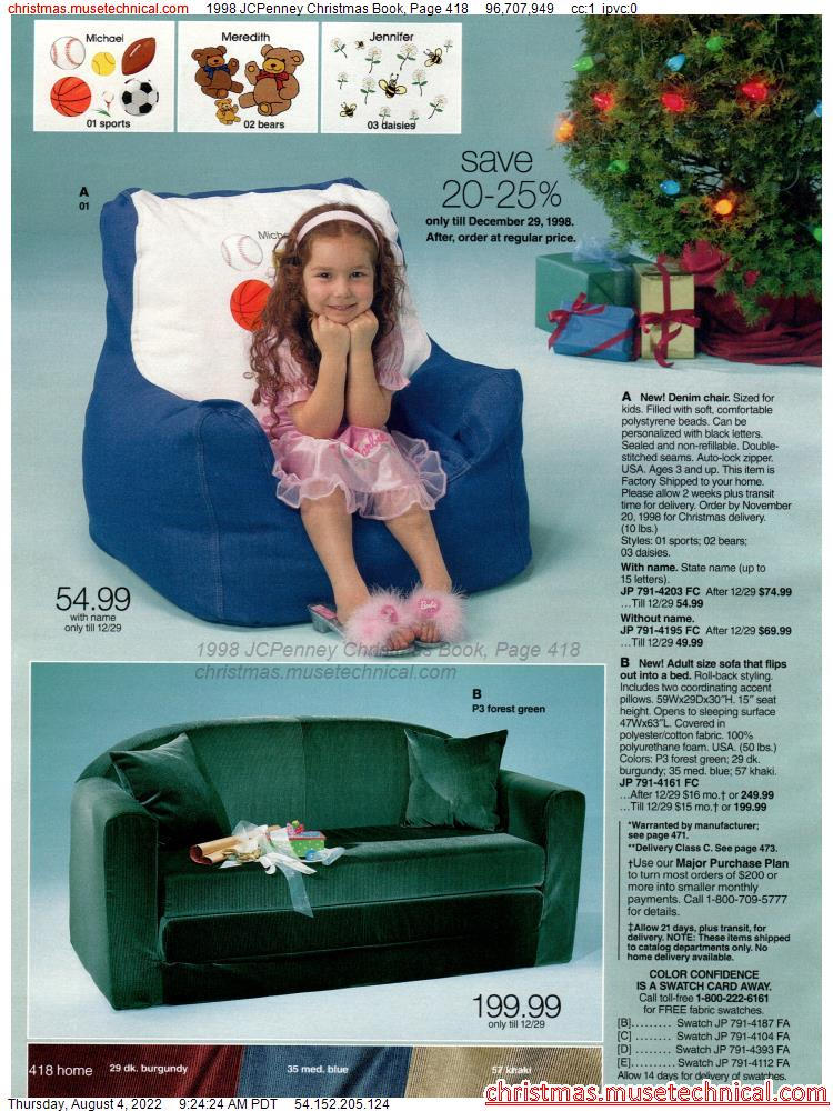 1998 JCPenney Christmas Book, Page 418