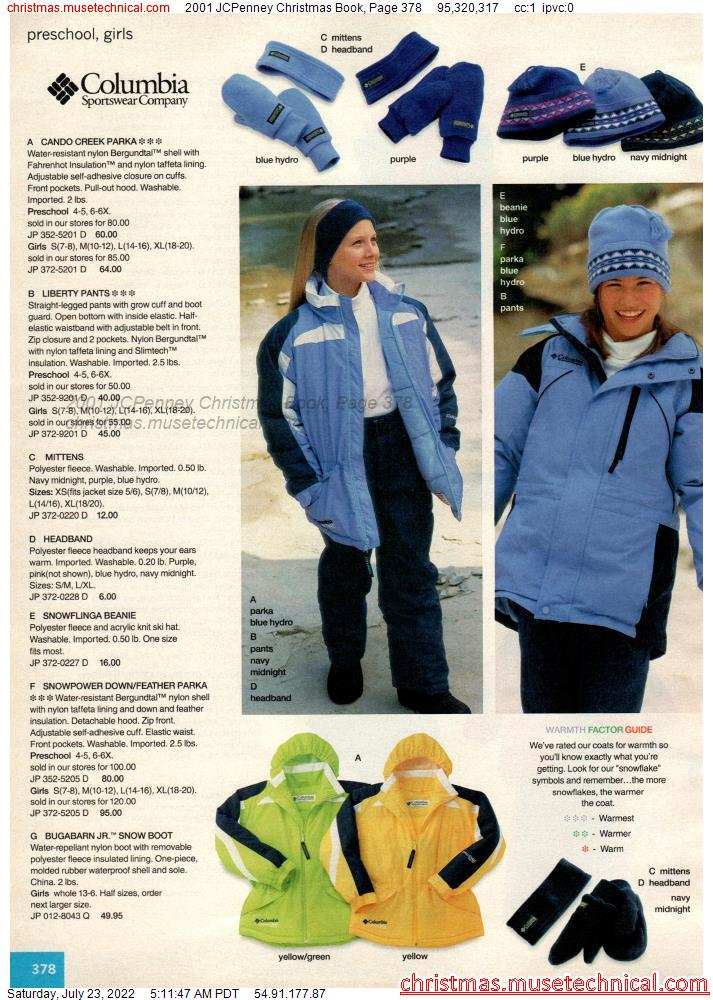 2001 JCPenney Christmas Book, Page 378