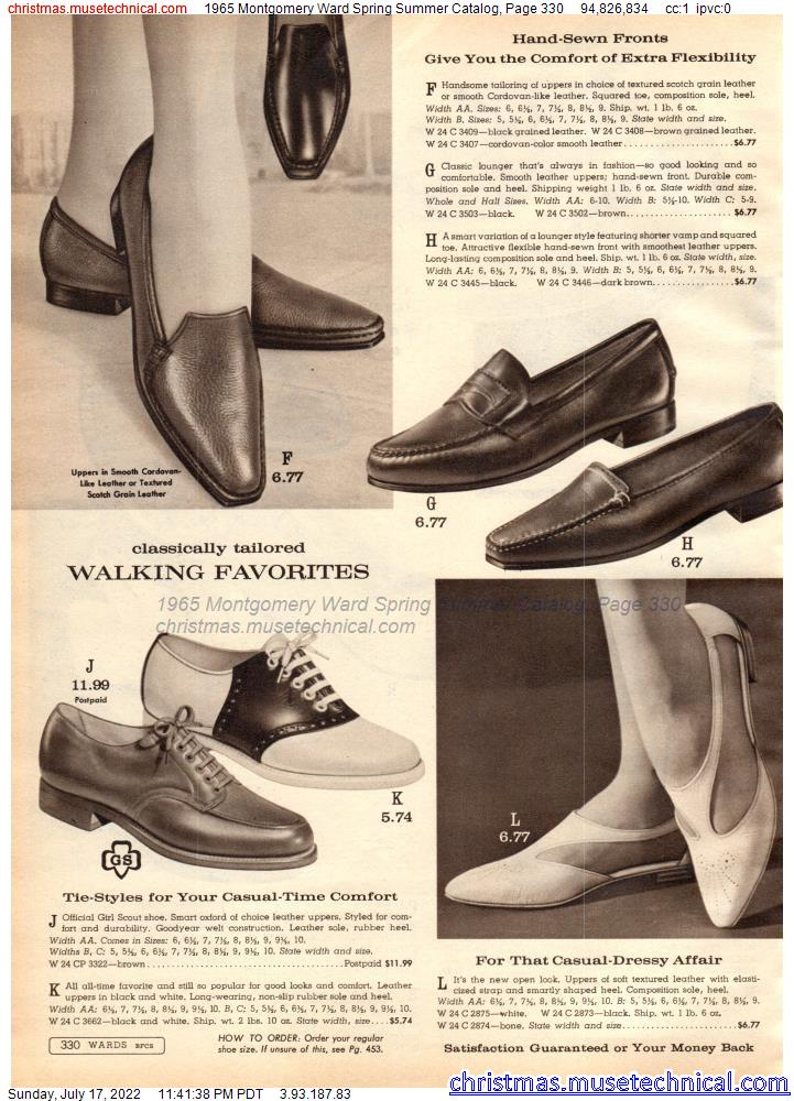 1965 Montgomery Ward Spring Summer Catalog, Page 330